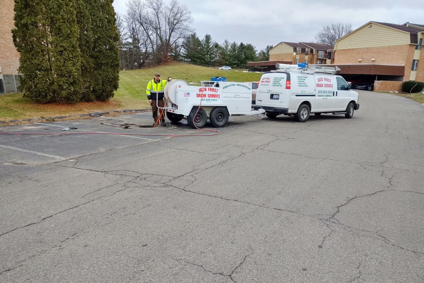 Commercial Drain Cleaning Marshall, MI